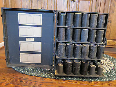 Cylinder Phonograph Record Case