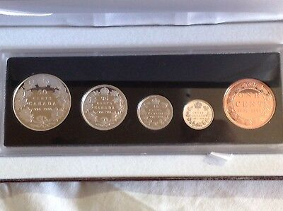 Canada 1908-1998 90 Anniversary Of RCM Proof Coin Set