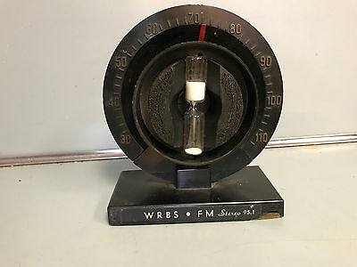 Vintage Radio Advertising Thermometer Minute Timer WRBS FM Stereo 95.1