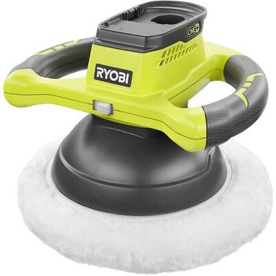 Orbtital Buffer Car Polisher Cordless Tool Ryobi 18V One+ Lithium Ion 10 in.