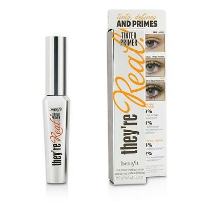 NEW Benefit They're Real Tinted Lash Primer - Mink Brown 0.3oz Womens Make Up