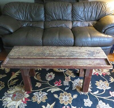Vintage Workbench Coffee Table