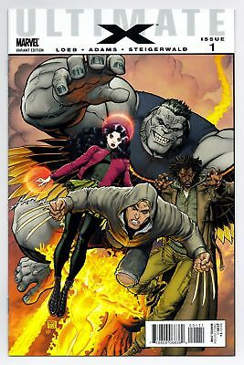 Ultimate X #1 Jimmy Hudson First App Wolverine First Print Marvel Comics Vf