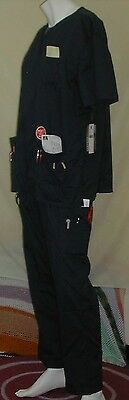 NWT Med Couture Unisex MC2 Scrub Set: Navy, Size: 2XL, Cotton Blend, Solid,