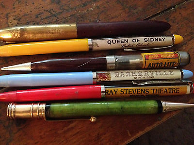 Vintage Parker Green Pen And Misc Set of Six Pens