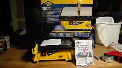 QEP 3/4 HP Wet Tile Saw with 7 in. Diamond Blade Open Box
