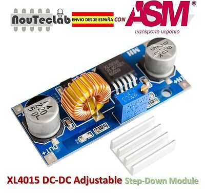 XL4015 DC-DC Step Down Adjustable Power Supply Module 5A LED Lithium Charger