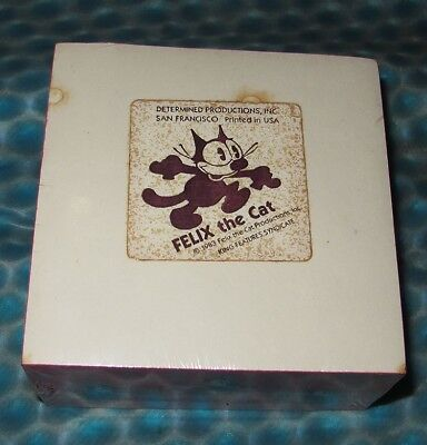 Vintage 1980's Felix The Cat Desk Pad Note