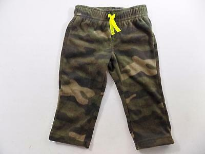 Carter's Baby Boys Camouflage Green Pants Polyester NWOT Size 12M KS53