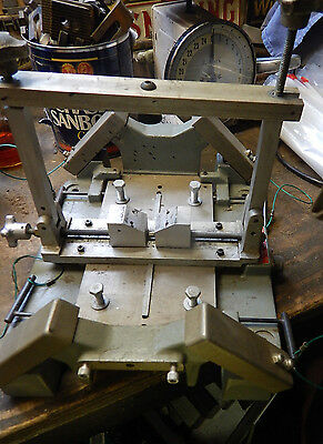 Lewbow Torque Table Testing Or Machinist Jig Fixture V Block Adjustable