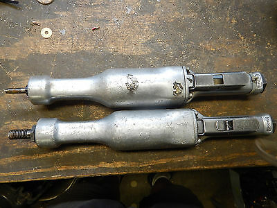 2 Aro Long Neck End Grinders Air Pneumatic