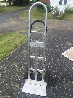 Wyse Cart Professional Aluminum Hand Truck (Dolly), With Brakes!
