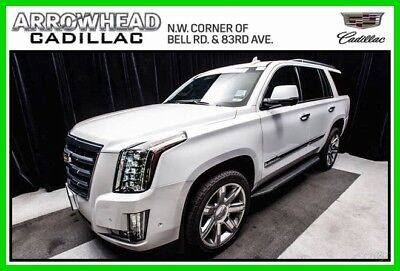 2017 Cadillac Escalade Luxury 2017 Luxury Certified 6.2L V8 16V Automatic 4WD Bose Moonroof OnStar