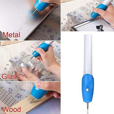 New Electric Etching Engraved Engrave Carve Tool Steel Jewellery Engraver Pen 7U