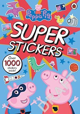 Peppa Pig Super Stickers Activity Book by Ladybird New Paperback Book