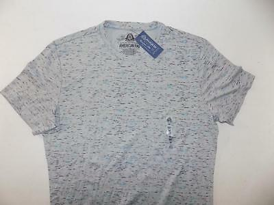 American Rag Men's Gray Crew Neck Short Sleeve Shirt NWT Size M TS653