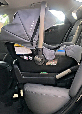 Nuna Pipa Graphite Grey Gray Infant Car Seat and Base Brand New NIB