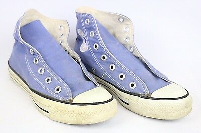 Vintage Converse Usa Light Blue Shoes Sz 5 Made In Usa