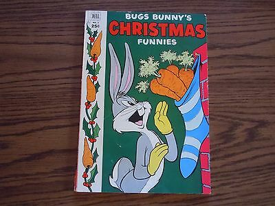 """ BUGS BUNNY'S CHRISTMAS FUNNIES "" COMIC - No.3 - 1952"
