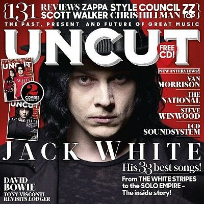 UNCUT magazine October 2017 Jack White The White Stripes Steve Winwood Cover 2