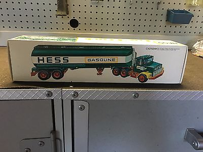 HESS Gasoline Tanker, Year Unknown, Mint Condition, Unopened