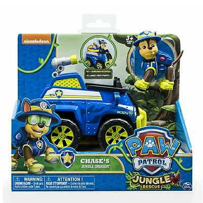 Paw Patrol Vehicles Chase Jungle Cruiser Truck Pup Rescue Dog Action Figure Toy