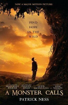 A Monster Calls (Movie Tie-in) by Patrick Ness New Paperback Book