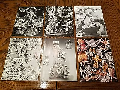 Silver Magazine  1995 COMPLETE YEAR (×6)   RARE!!!  MUST SEE