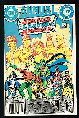Justice League Of America Annual # 2 VG/FN Cond. 1st Vibe Appearance