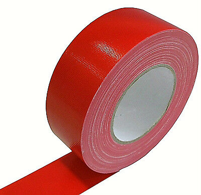 Gaffa Tape Stage-Band 50mm x 50m rot Gewebeklebeband