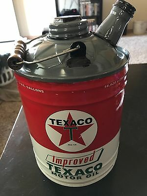 texaco collectable gas can
