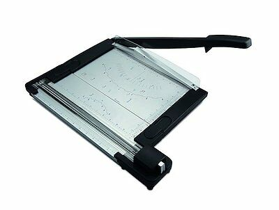 Paper Trimmer for Office & Home - 2 in 1 Rotary & Guillotine