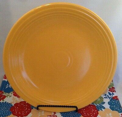 Vintage Fiestaware Yellow Chop Plate Fiesta 15 inch Charger Serving Plate