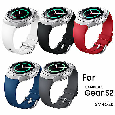 5Pcs Replacement rubber Silicone Wrist Smart Watch Band for Samsung Gear S2
