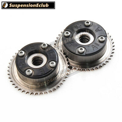 1pair Camshaft Adjusters 2710500800 2710500900 for Mercedes 1.8 M271 2002-2011