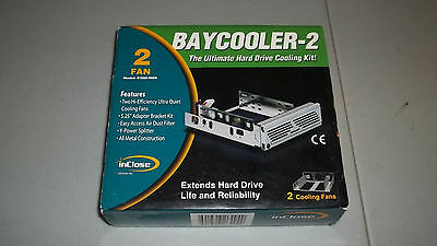 Inclose Baycooler 2 for Pc harddrives