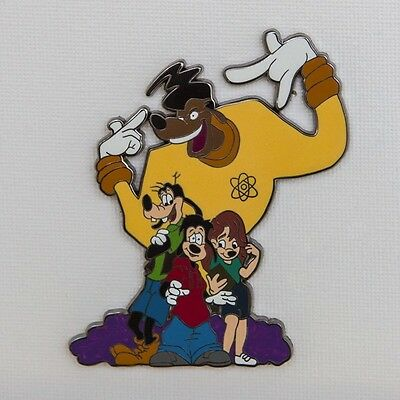 A Goofy Movie with Goofy Roxanne and Max Featuring Powerline Disney pin