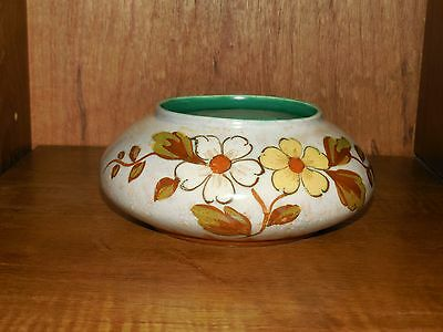 Gouda Holland ~ Dema ~ Signed & Numbered ~ Vase / Bump in Bowl