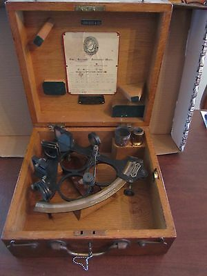 ANTIQUE-VINTAGE NAUTICAL HEZZANITH HEATH & Co. NEW ELTHAM LONDON SE9 590 SEXTANT