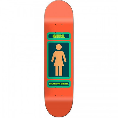 "Girl 93' Til Infinity Brandon Biebel 8.0"" Skateboard Deck"
