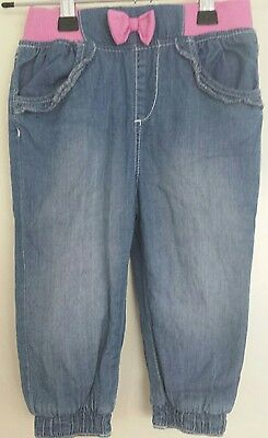 Baby Girl Jeans Size 0 Brand New