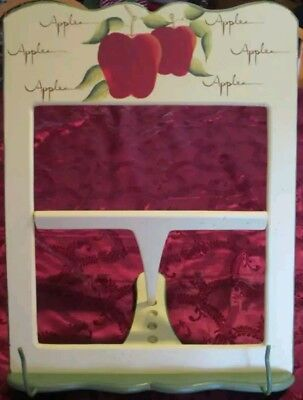 Home Interiors Apple Orchard Collection Cookbook Recipe Stand Holder Painted