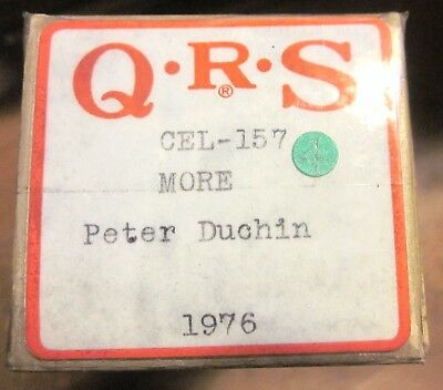 QRS Player Piano Roll Celebrity Series #CEL-158 MORE by Peter Duchin - Live