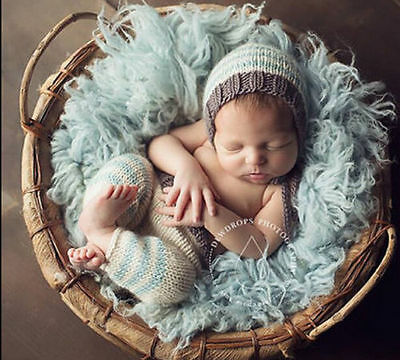 Newborn Baby Girl Crochet Knit Clothes Photo Photography Prop Costume Hat #5