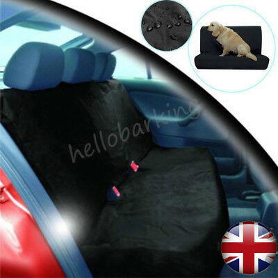 UK Waterproof Car Rear Back Seat Cover Pet Dog Heavy Duty Protector Universal