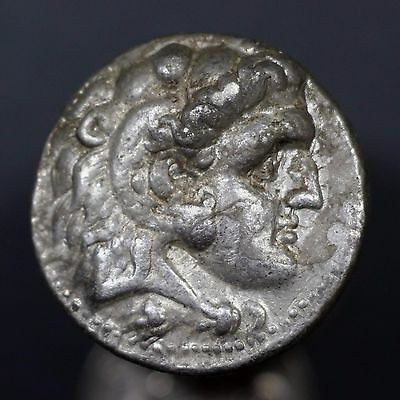 c. 320 B.C. Alexander the Great Ancient Greek Silver Tetradrachm Coin