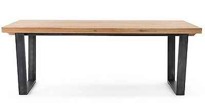 Calia Solid American White Oak Dining Table