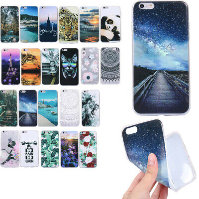 Hot Ultra-thin Shockproof Slim Soft TPU Silicone Case Cover For Various Phone