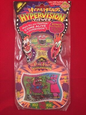 NEW Hypaheads In Hypervision Viewer With Bonus Rare Hypahead