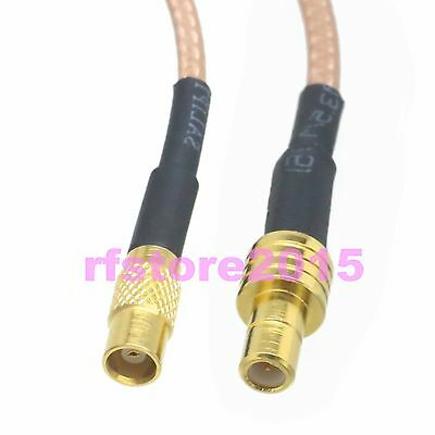 Cable RG316 6inch MCX female jack to SMB male plug RF Pigtail Jumper